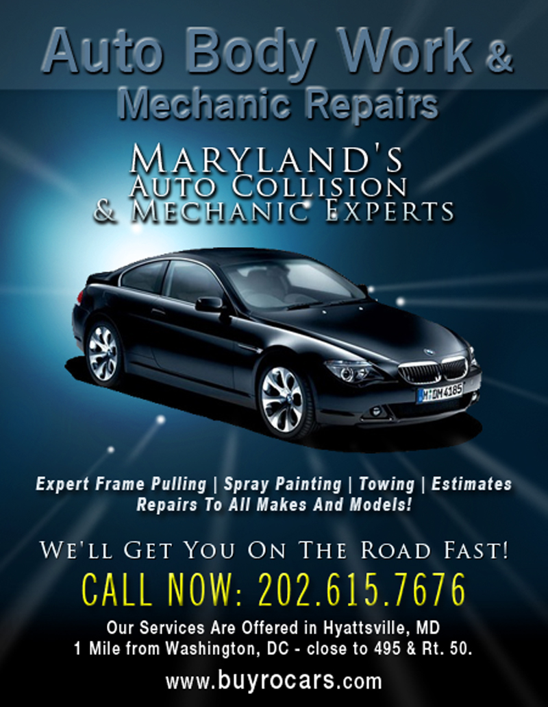 Hyattsville Auto Sales >> Rocars Auto Sales And Service Brockers In Washington Dc